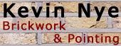 Kevin Nye: Brickwork and Pointing Specialists